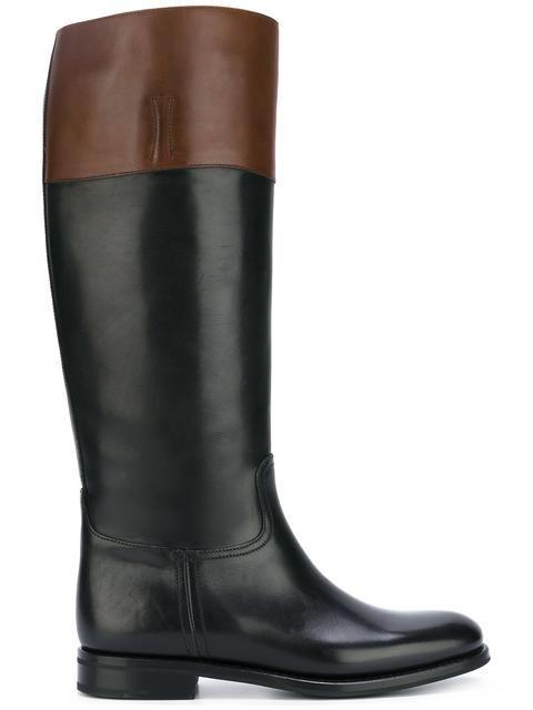 CHURCH'S 'Martina' boots. #churchs #shoes #'martina'高筒靴