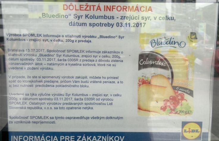Lidl sťahuje z obchodov poľský syr s nepriznanými éčkami