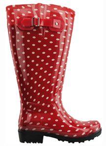 17 Best ideas about Polka Dot Rain Boots on Pinterest | White rain ...