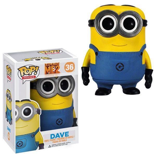 Despicable Me 2 Movie Dave Pop! Vinyl Figure