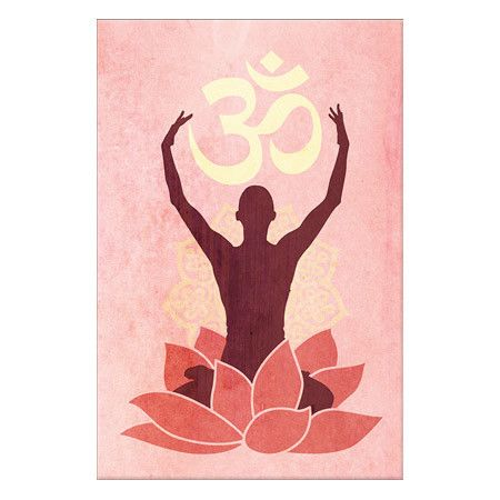 A lovely addition to your home gym or studio, this artful canvas print features a yoga-inspired motif. Product: Wall art ... Home Gyms - http://amzn.to/2hoGXRy