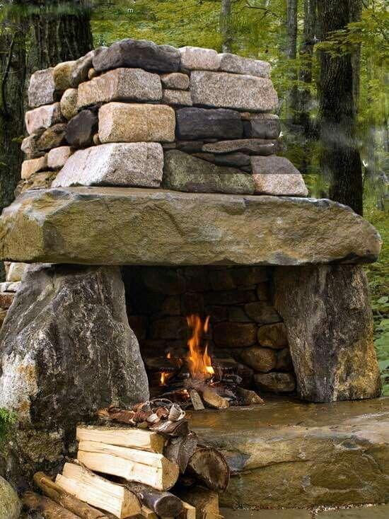 pin von frane bezmalinovic auf camping ideas pinterest garten feuerstelle haus und wohnen. Black Bedroom Furniture Sets. Home Design Ideas