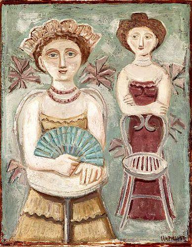 Campigli, Massimo (1895-1971) - 1952 Two Women (Christie's New York, 1999)
