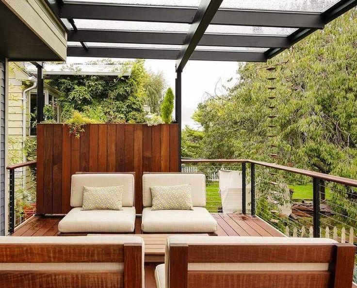 Les 25 meilleures idées concernant planteurs railing de terrasse ...