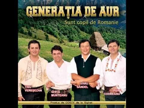 Puiu, Tinu, Ghită si Varu - Sunt copil de Romanie - audio official CD qu...