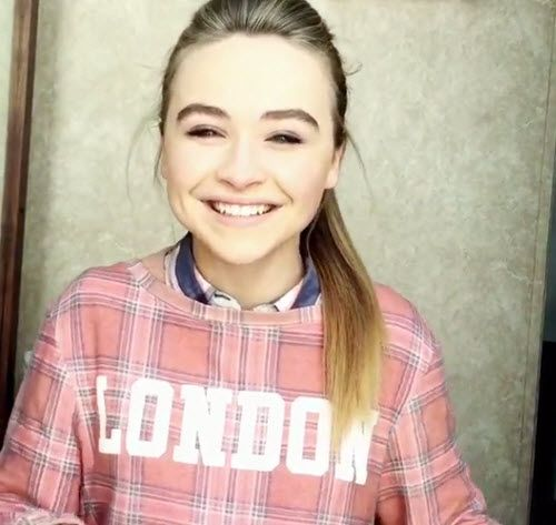 "Video: Sabrina Carpenter So Happy About The Love She Is Receiving For ""Eyes Wide Open"" Release April 15, 2015 - Dis411"