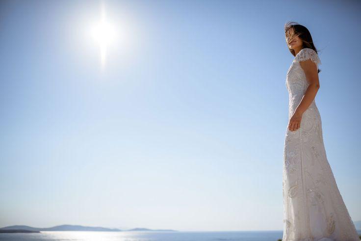Elegant Sunset Wedding in Mykonos | Private Villa Mykonos