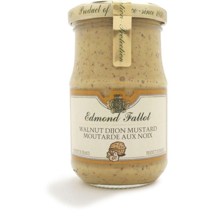 Edmond Fallot Walnut Dijon Mustard   Sur La Table