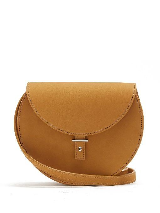 PB 0110 Ab21 Leather Cross-Body Bag. #pb0110 #bags #lace #lining #denim #metallic #shoulder bags #suede #