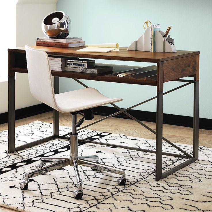 18 best Desks images on Pinterest Home office, Home offices and - home offices im industriellen stil