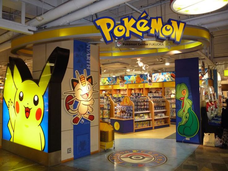 Image result for pokemon store