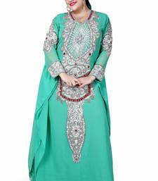 Buy green kaftan islamic dress  Reaymade Abaya online