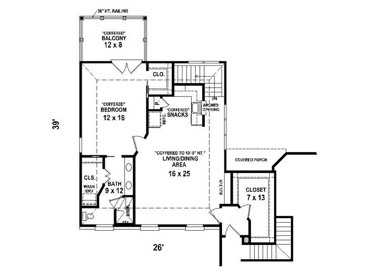Garage Apartment Plans Carriage House Plan With 2 Car