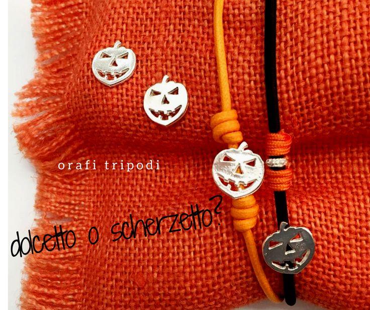 """Trick or Treat Collection // Halloween 2016 • scopri la collezione presso il nostro negozio Orafi Tripodi """"Il Crogiuolo """" #orafitripodi  #argento925 #handmadejewels"""