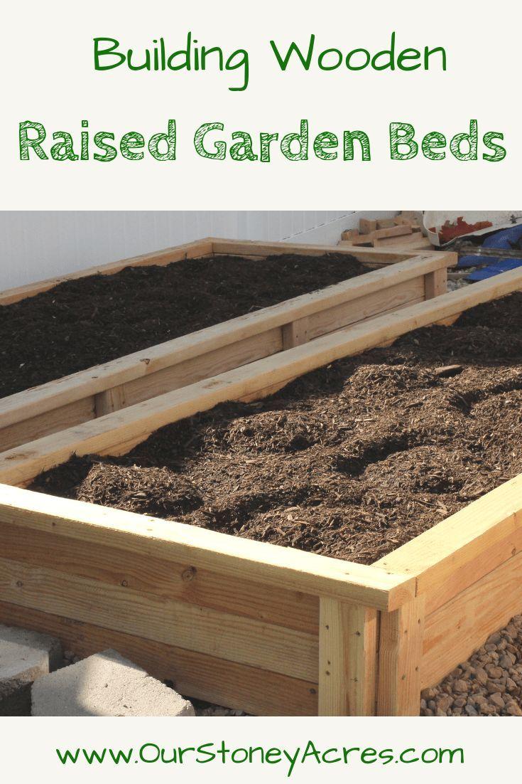 Building A Raised Flagstone Patio: Building A Raised Garden Bed