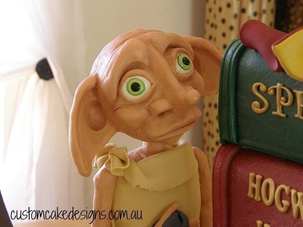 Dobby Harry Potter Cake by Custom Cake Designs