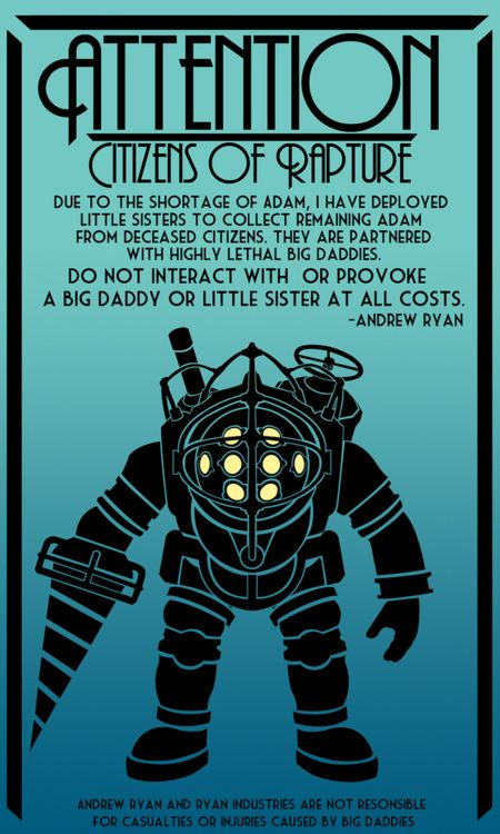 Bioshock - Underwater, steampunk, genetic modifications. Need I say more?