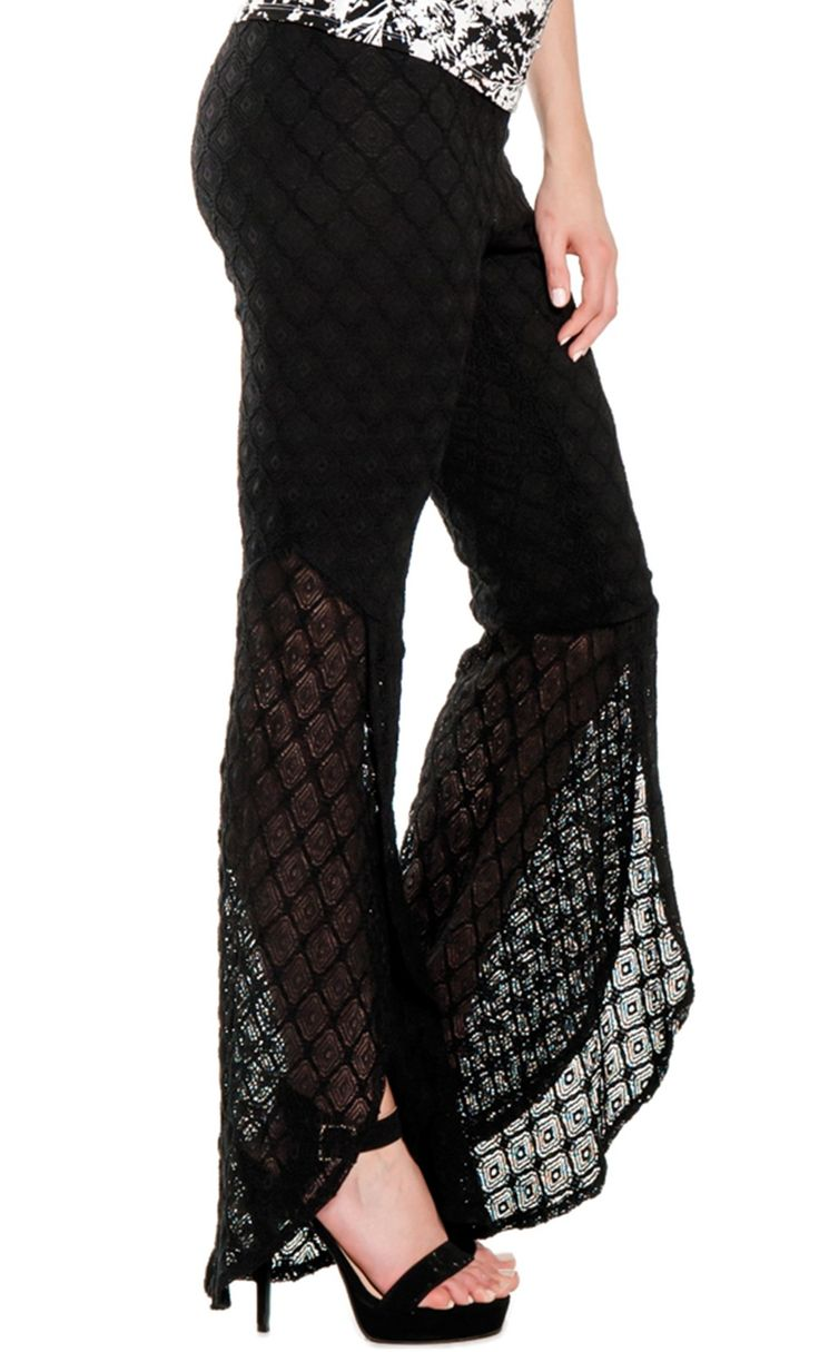 Fatima Black Pants by Marisa Kenson. I have seen these in person and the pay look absolutely fabulous. $105 from www.mkcollab.com/kazdesigns