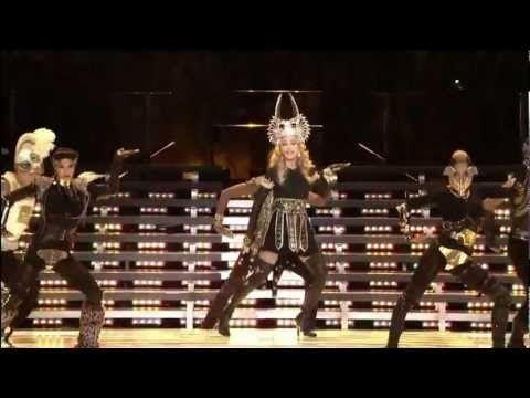 ▶ Madonna Super Bowl Half Time Show 2012 HD - YouTube
