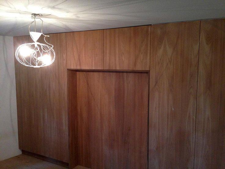 platsbyggda garderober teak moderskeppet stockholm