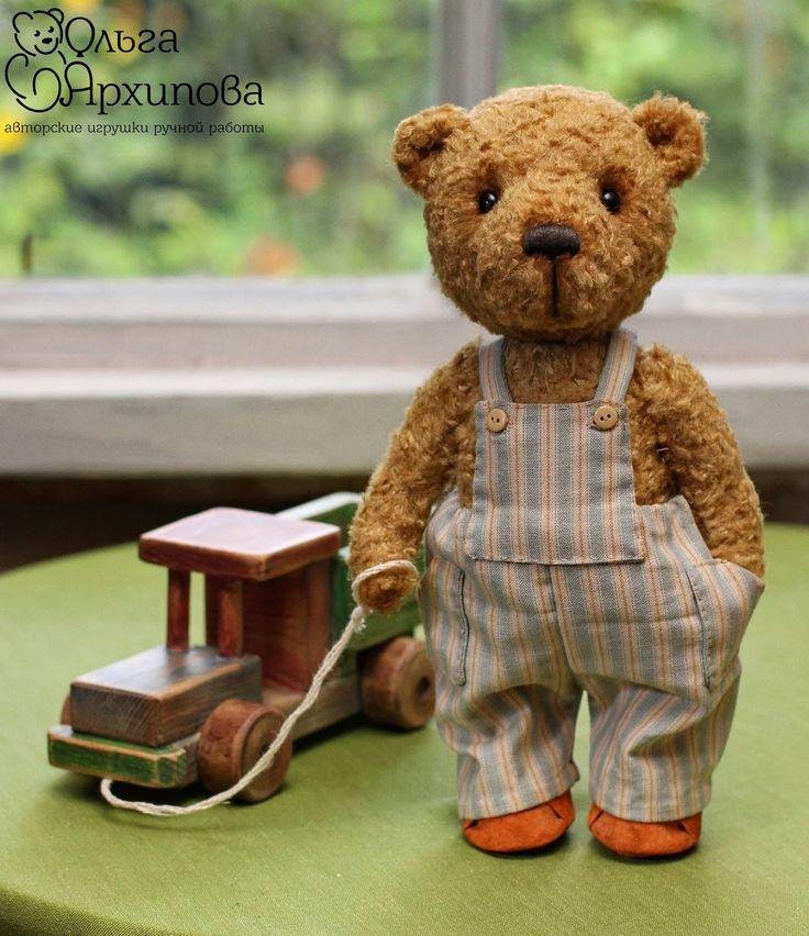 Artist handmade teddy bears by Olga Arkhipova