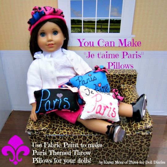 how to make american girl doll posters
