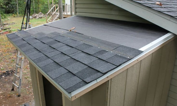 Best How To Shingle A Shed With 3 Tab And Architectural 640 x 480