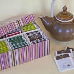 Tutorial To Transform A Shoebox On Tea Box Bhg S Best Diy Ideas Pinterest And