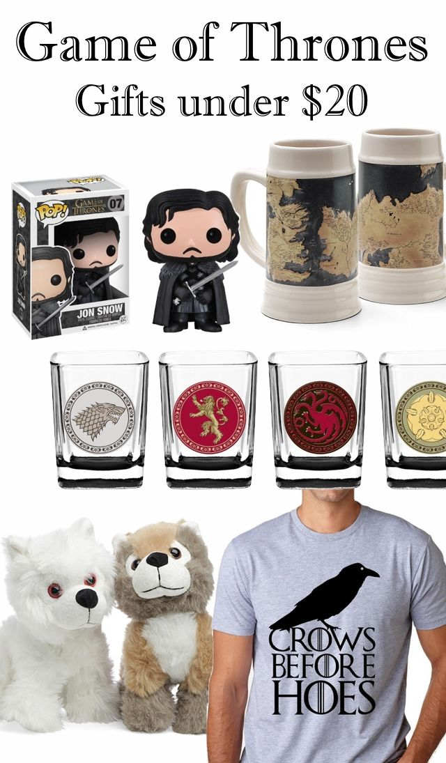 Game of Thrones Gifts Under $20