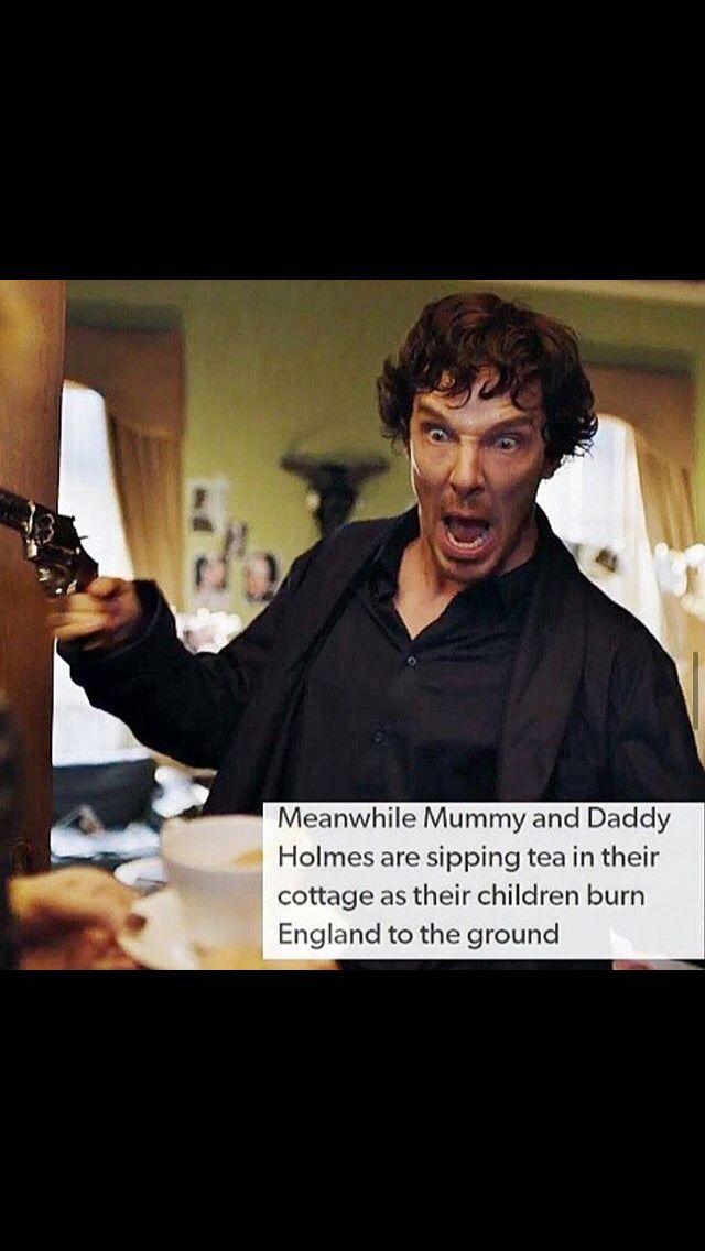 the Holmes siblings xD
