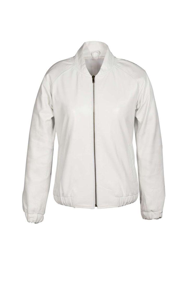 Stine Kim Design Autumn Winter 2014  Style: White Bomber