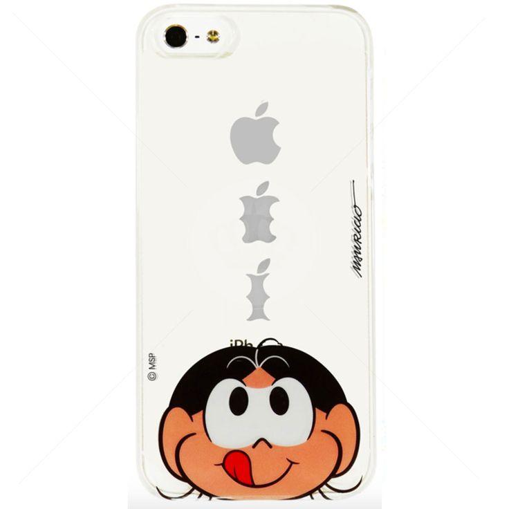 Capa de Silicone Transparente Magali para iPhone 5/5S
