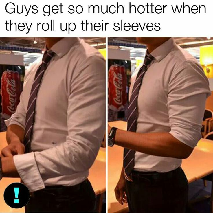 The last person who pinned this was named jordana too!!!! Great jordanas think alike!!!!! But this is weirdly true! I thought of the guy I have a crush on, imagined him in a shirt with sleeves rolled up and voila! soooo much cuter!! Why? I have no idea lol