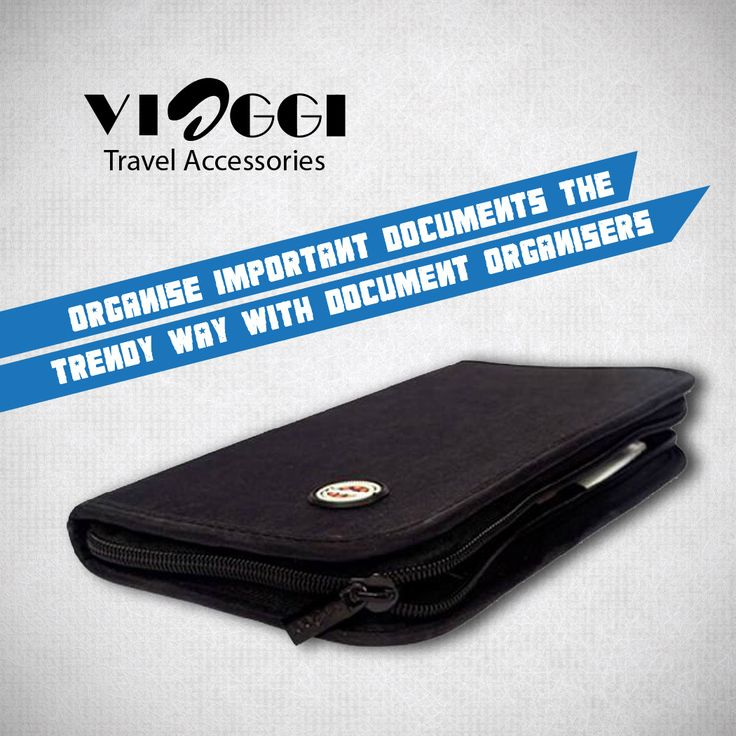 Get the latest design of #Documentorganiser.Document organiser to keep all your important documents in one place where you can get it in friction of seconds whenever you need.Also has a full size chain behind to extra space. www.viaggitravelworld.com