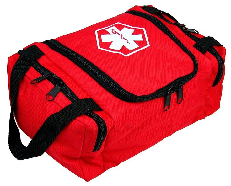 FIRST AID KIT FULLY STOCKED EMS MEDICAL BAG TRAUMA RESPONDER EMERGENCY MEDIC EMT #DixieEms