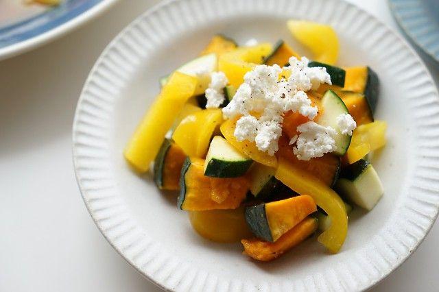 ダイエットレシピ「ゴロゴロ野菜のサラダ、塩麹ドレッシング」 | ダイエットプラス