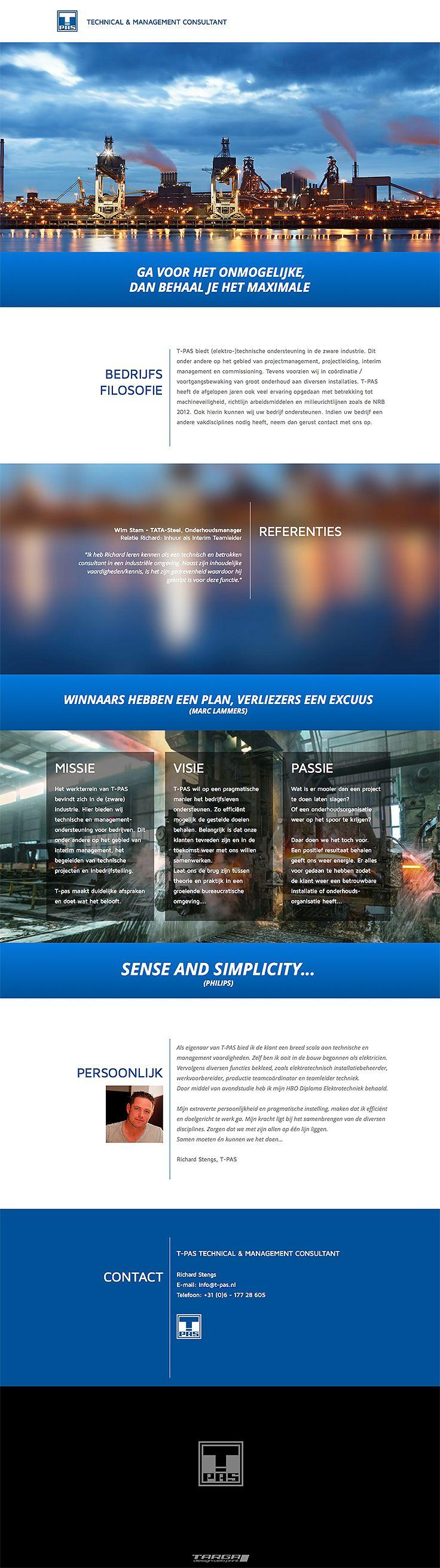 Webdesign voor T-PAS