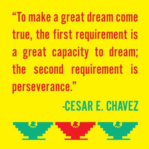 César E. Chavez. @Ernesto Yerena Montejano. Hecho con ganas / Made with passion project.
