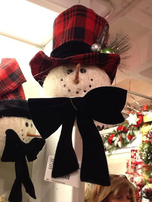 1000 ideas about snowman tree topper on pinterest xmas. Black Bedroom Furniture Sets. Home Design Ideas