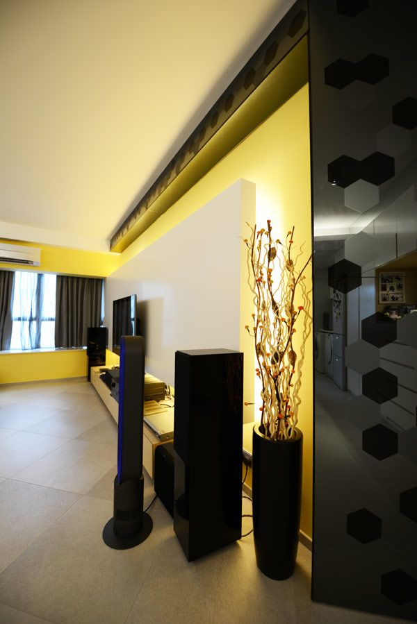 Apartment Design Interior Designer Salary Yellow Light And Dark Sound With Vegetation Modern