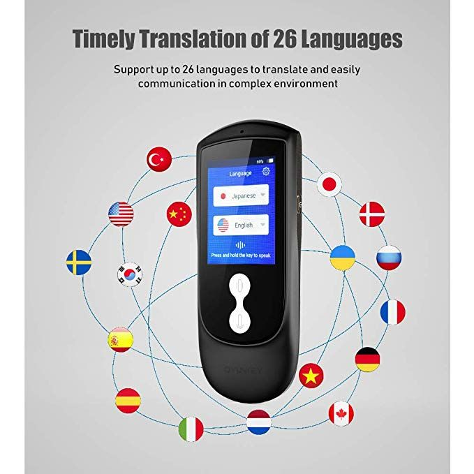 Language Translator Device, OYUNKEY 26 Voice Translator