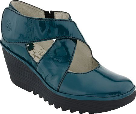 Fly London Yogo, such a beautiful color! Find more great comfortable shoe recommendations at BarkingDogShoes.com