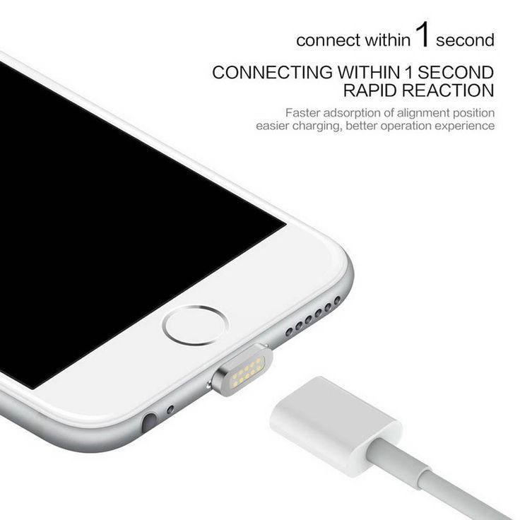 2.4a magnético cabo cabo de dados micro usb para apple iphone 5 5s 6 6 s 7 mais cabo de carregamento android para samsung zte telefone móvel