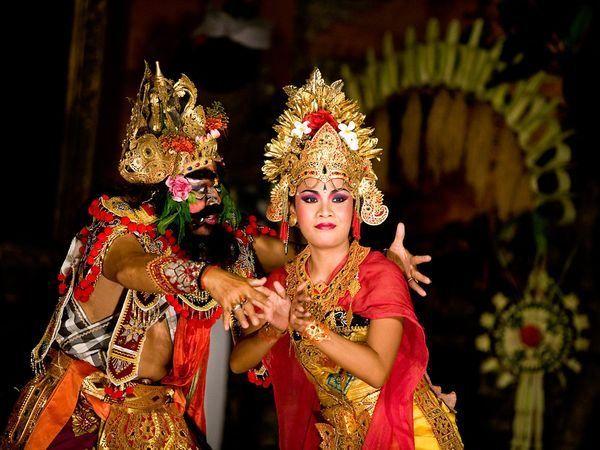 Balinese Dancers  Photograph by Wei Seng Chen