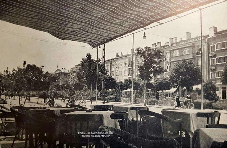 1939 Ankara kızılay meram pastanesi..