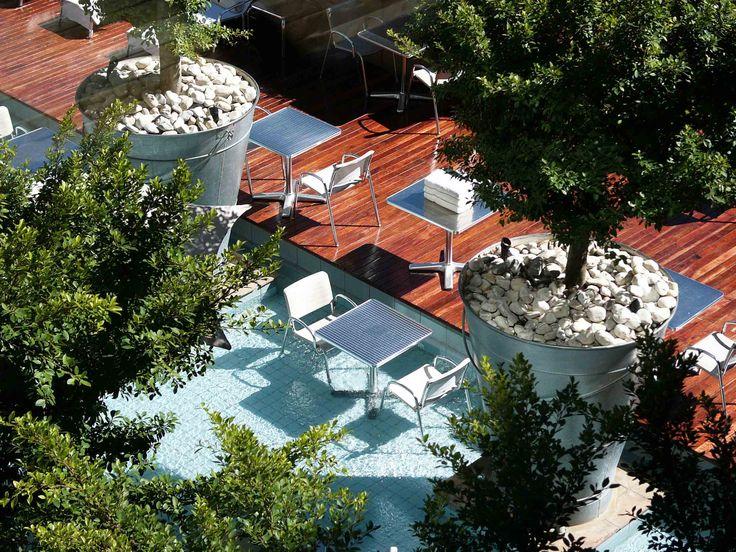 Melrose Arch Hotel Johannesburg - Pool Dining