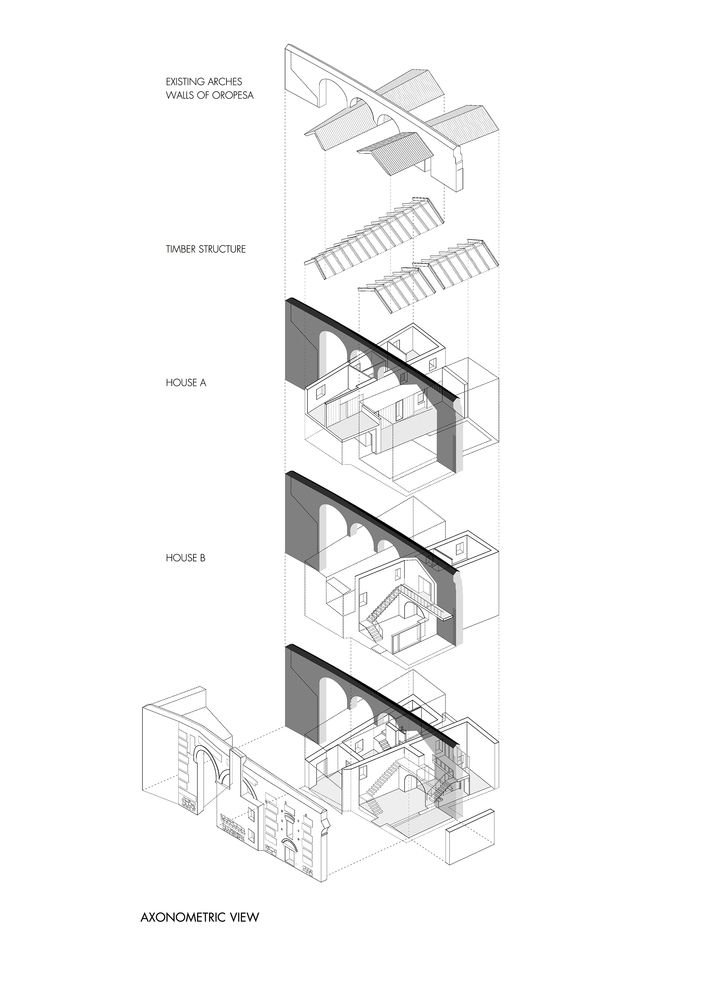 Gallery of Two Houses in Oropesa / Paredes Pedrosa - 15