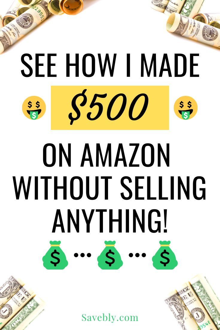 Make Money on Amazon Without Selling! - [See How I Made $500] | Side