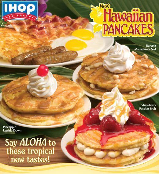 International House of Pancakes Copycat Recipes: IHOP Hawaiian Flavored Pancakes