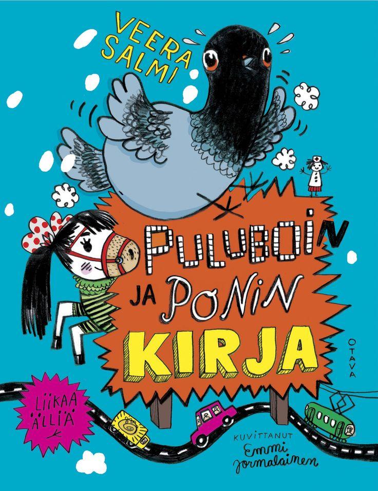 Title: Puluboin ja Ponin kirja | Author: Veera Salmi | Designer: Emmi Jormalainen